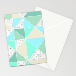 Fresh Geometry Stationery Cards