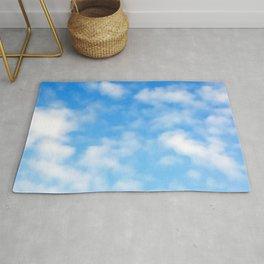 Blue Sky Sunny Day Pattern Rug