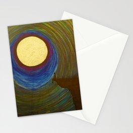 Night side Stationery Cards
