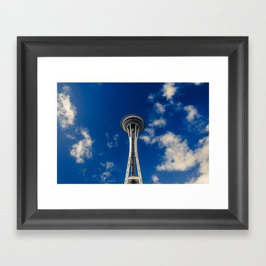Needle Framed Art Print