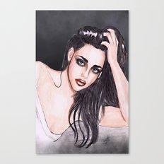 Kristen Stewart Canvas Print