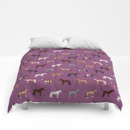 horses farm animal pet gifts Comforters