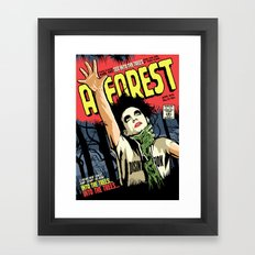 TFTS   Forest Framed Art Print