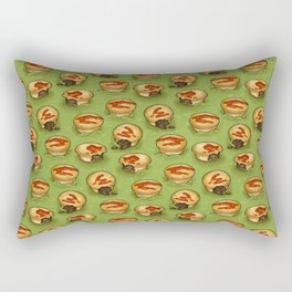 Adelaide Pie Floater, Pie in mushy peas Rectangular Pillow