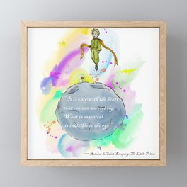 Little Prince World Framed Mini Art Print