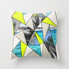 PALM POINT Throw Pillow