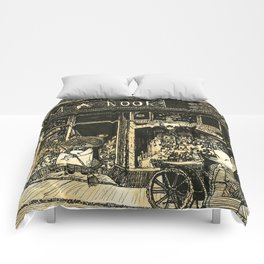 Nook's Grocery and C. Redd's Mobile Art Emporium Comforters