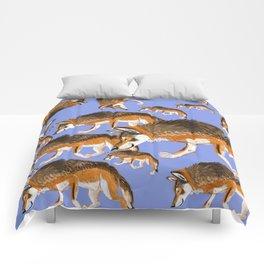 Totem Italian wolf (italicus) Comforters