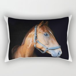 The horse Rectangular Pillow