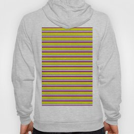 Yellow Stripes Hoody