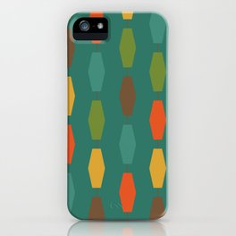 Colima - Teal iPhone Case
