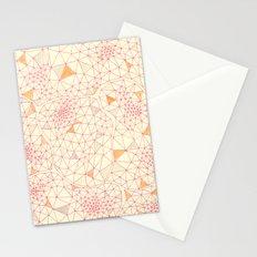 an abundance of triangular amoebas Stationery Cards