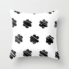 strokes Throw Pillow
