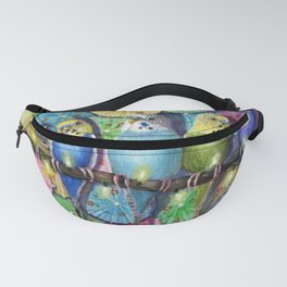 Parakeet Theater Fanny Pack