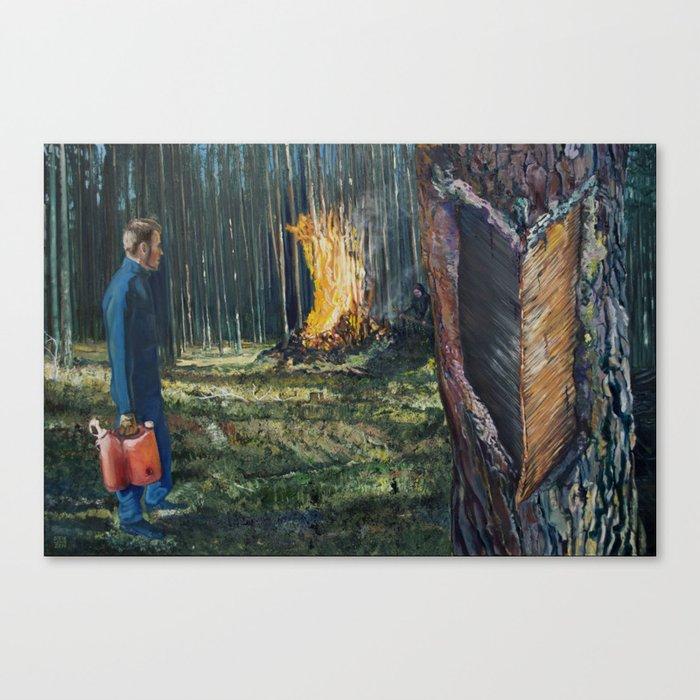 Take the Heat Canvas Print