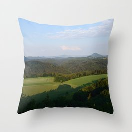 Saxon Switzerland Throw Pillow