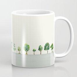 A Row Of Trees Coffee Mug