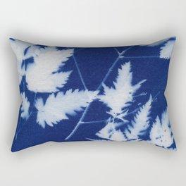 Cyanotype No. 2 Rectangular Pillow