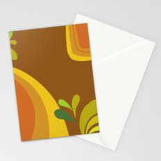 retro pattern Stationery Cards