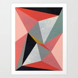 Canvas #3 Art Print