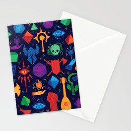 TTRPG Forever - Color Stationery Cards