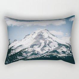 Mount Hood X Rectangular Pillow