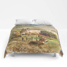 Donkey Love Comforters