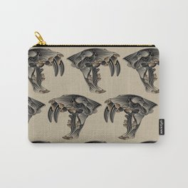 Ancient Warrior (Sabertooth Skull) Carry-All Pouch