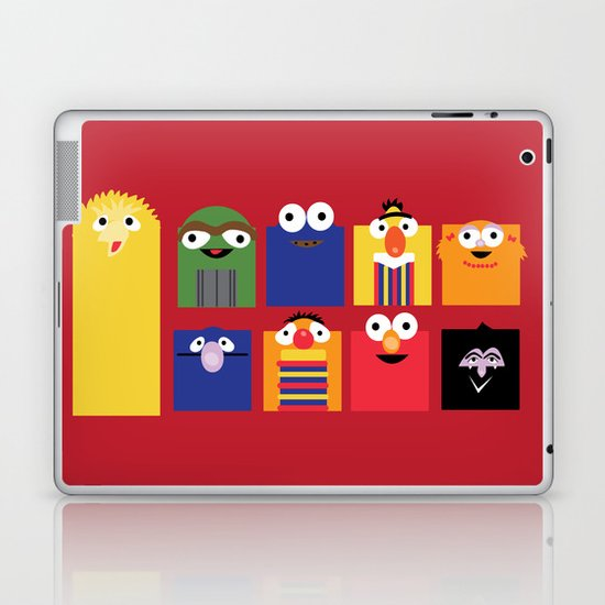 Sesame street Laptop & iPad Skin