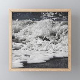 Salty splash Framed Mini Art Print