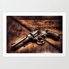 Revolver HDR Art Print
