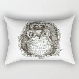 Hu! Rectangular Pillow