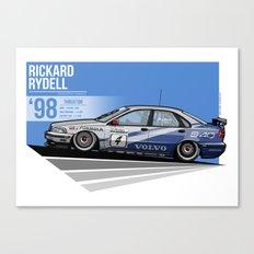 Rickard Rydell - 1998 Thruxton Canvas Print