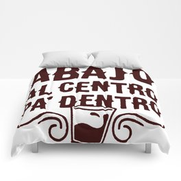 ARRIBA ABAJO AL CENTRO PA_ DENTRO T-SHIRT Comforters