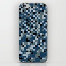 Pixelated Camo Alternate iPhone & iPod Skin