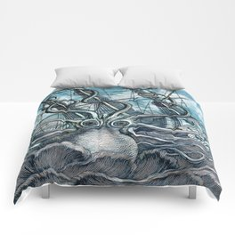 Sea Monster Comforters