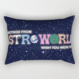 ASTROWORLD TRAVIS SCOT Rectangular Pillow