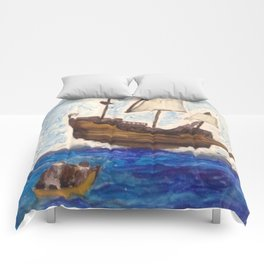 The Same Boat Comforters
