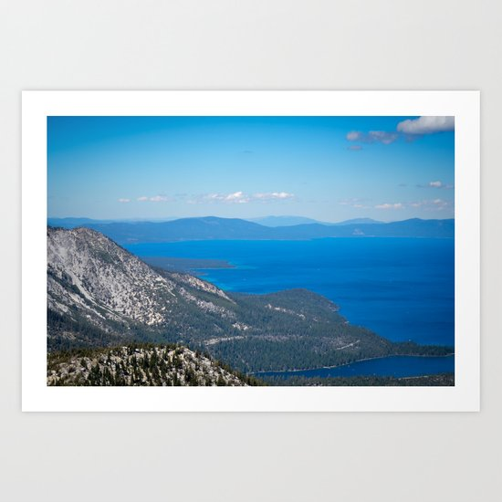 Tahoe From The Top Art Print