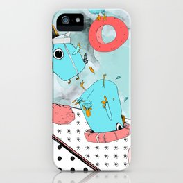 Cockatoo Making Muffins  iPhone Case