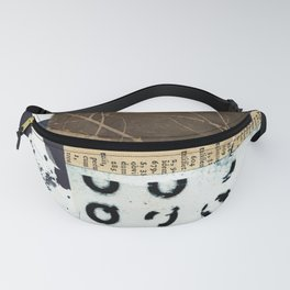 Divided Stories Fanny Pack