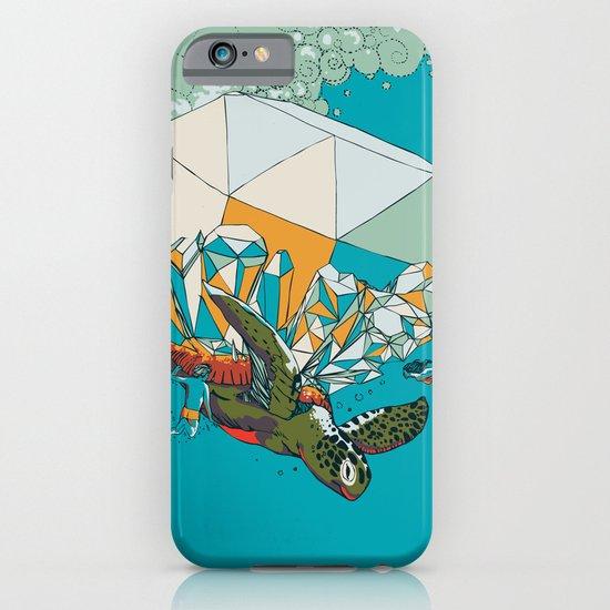 TURTLE& THE DIAMONDS iPhone & iPod Case
