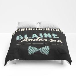 Blaine Anderson Piano Comforters