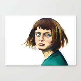 The Missing Girl Canvas Print
