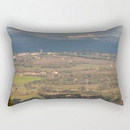 Italian countryside landscape Rectangular Pillow