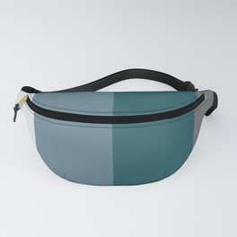 Parable to Behr Blueprint Color of the Year and Accent Colors Vertical Stripes 2 Fanny Pack