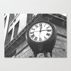 Time Keeps Ticking Canvas Print