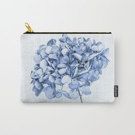 Hydrangea Blue 2 Carry-All Pouch