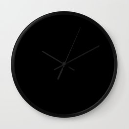 Hello my name is nice to meet you design Wall Clock