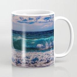 Big Surf at Blue Shutters Beach, Rhode Island Coffee Mug